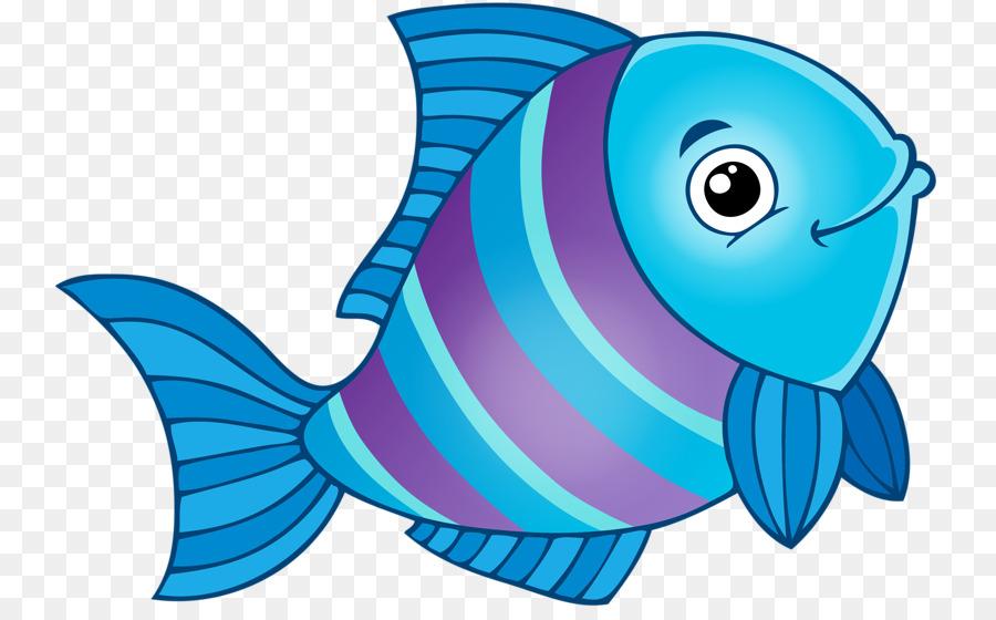 Cartoon sea transparent clip. Fish in ocean clipart