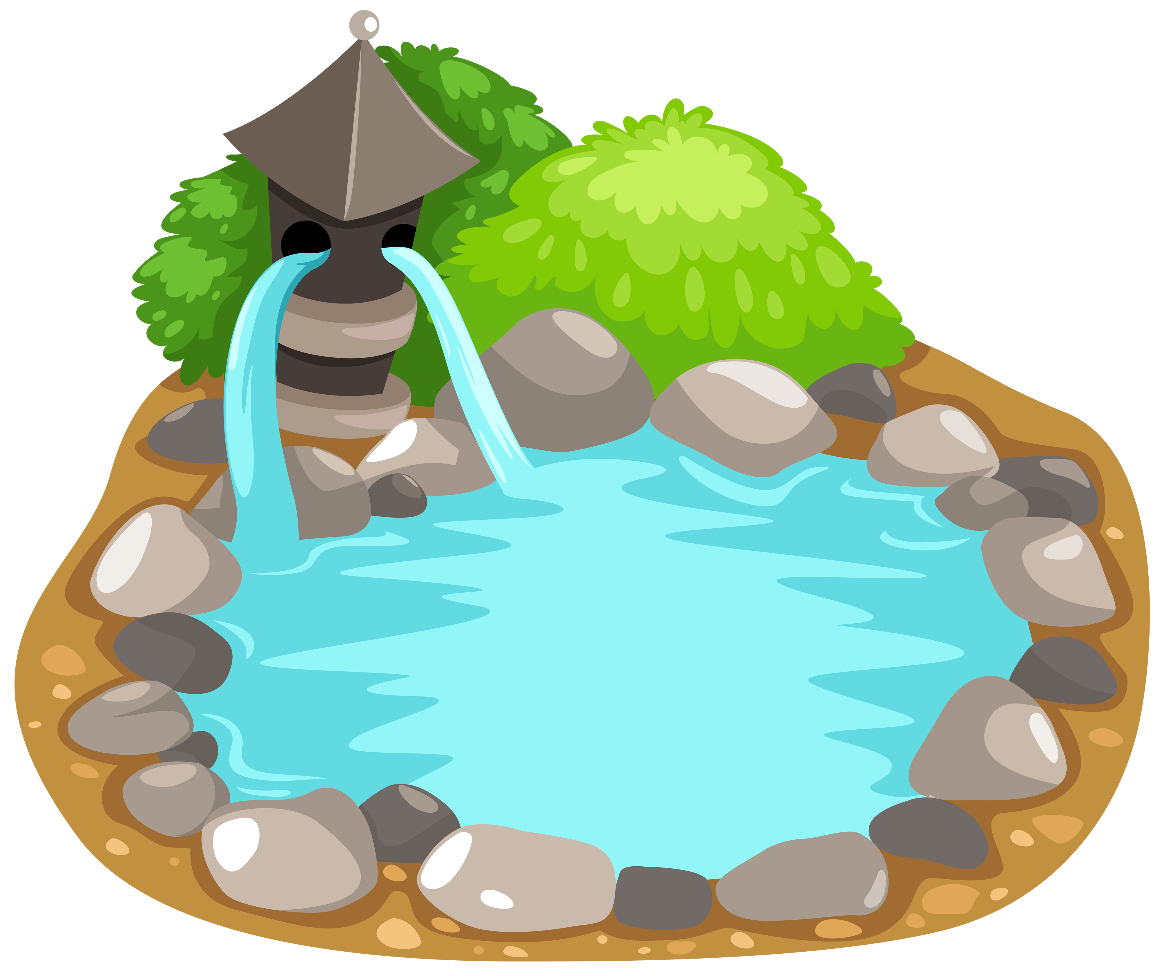 Fish in pond clipart no watermark graphic royalty free library Pond PNG Clipart - Best WEB Clipart graphic royalty free library