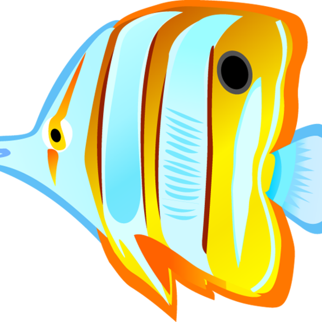 Fish in the ocean clipart clipart freeuse library Tropical Fish Clipart christmas clipart hatenylo.com clipart freeuse library