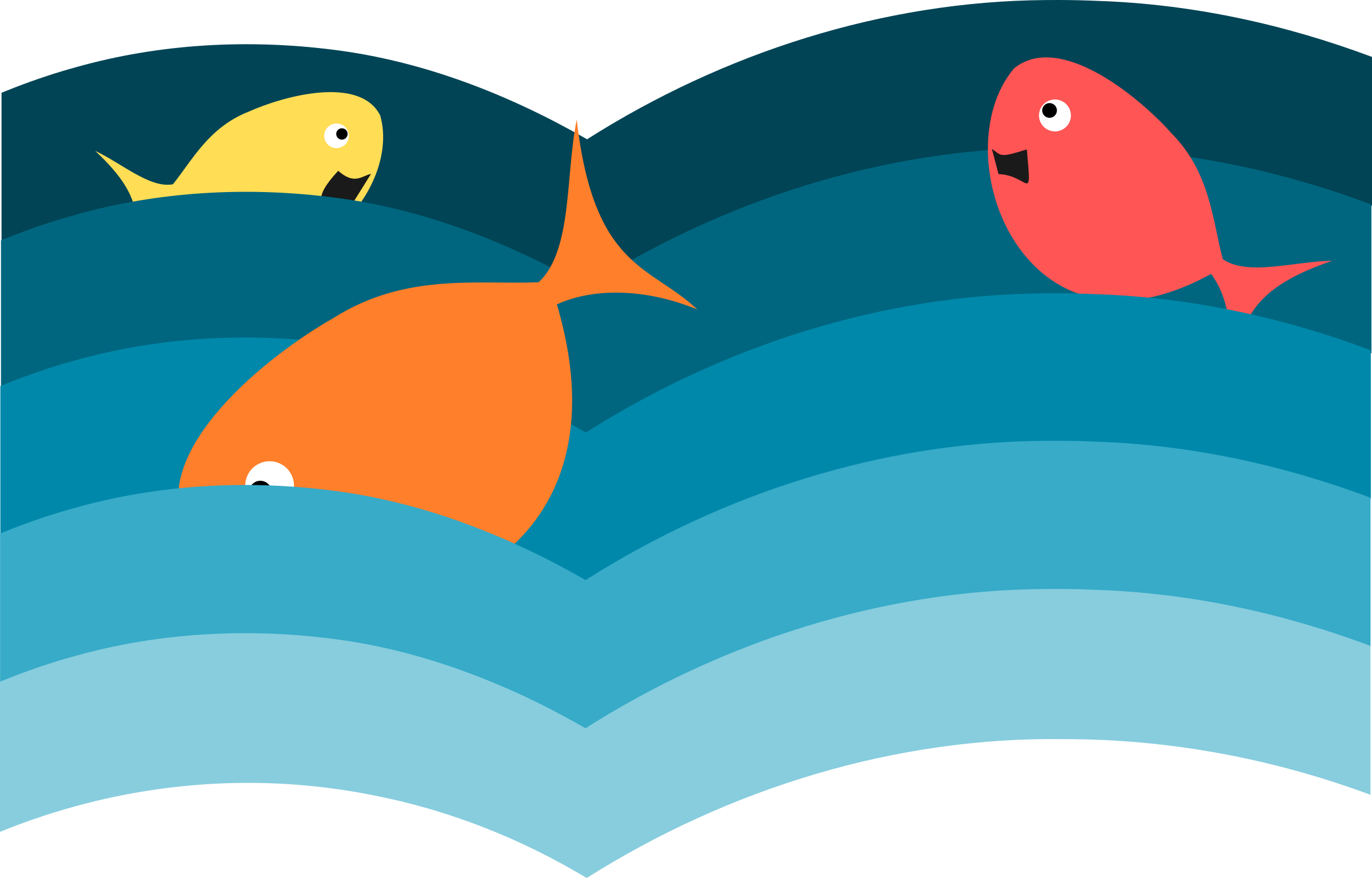 Fish in the water clipart png library stock Clipart - Fishes png library stock