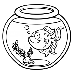 In and out clipart black and white jpg freeuse 999+ Fish Clipart Black and White [Free Download]- Cloud Clipart jpg freeuse