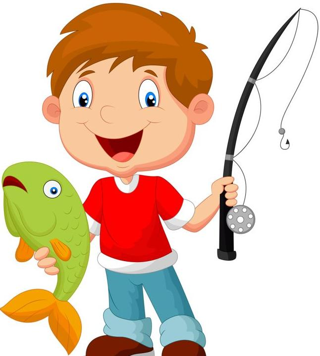 Fish kids behacior clipart cacught in a net being good svg royalty free download Kiwanis 31st Annual Free Fishing Derby 2019 Cape Coral - svg royalty free download