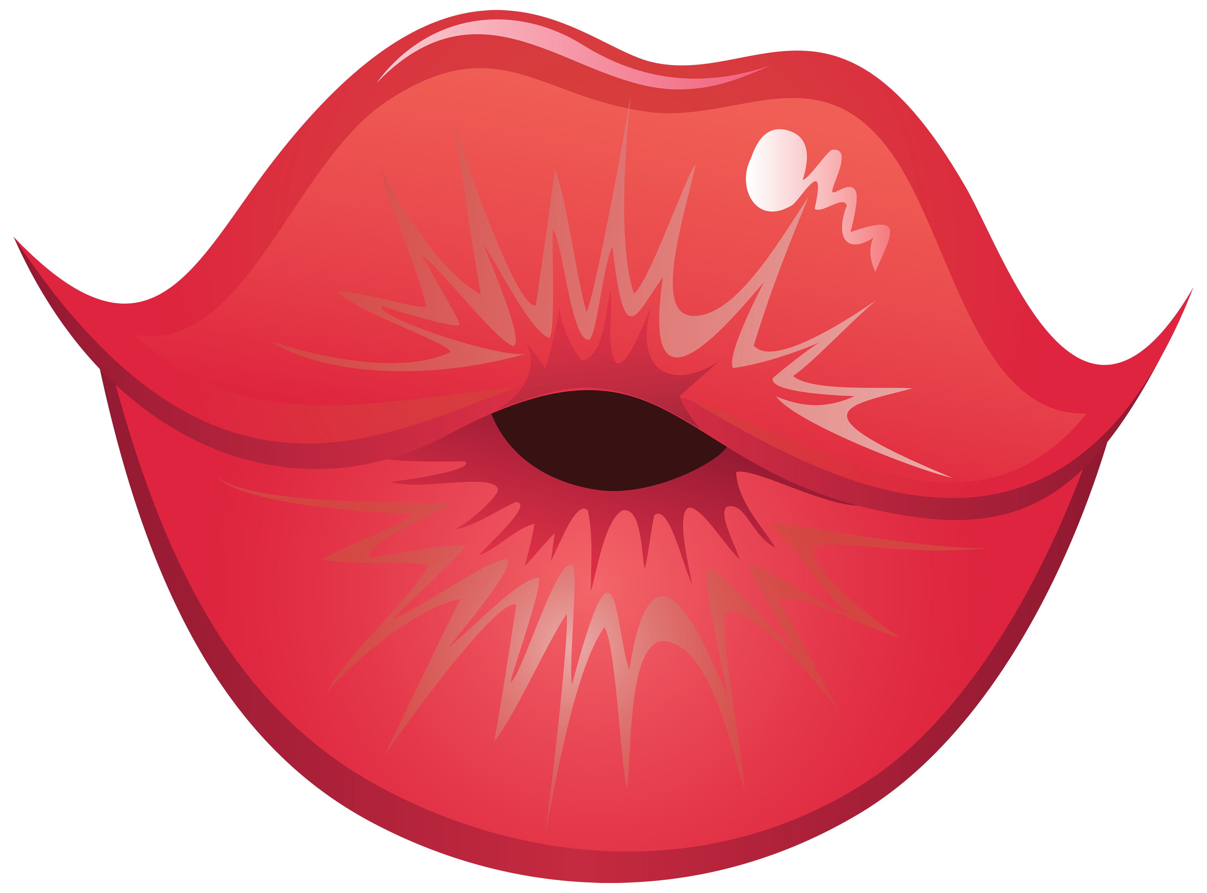 Lips the fish clipart free stock Kiss Lips PNG Clipart - Best WEB Clipart free stock