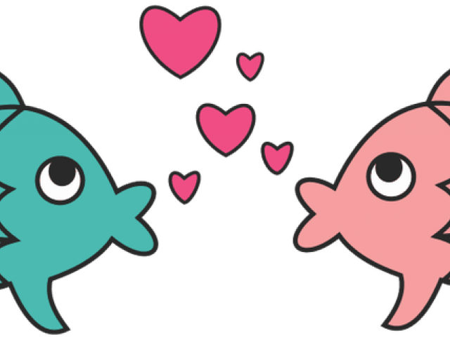 Fish love clipart jpg free Outlines Of Fish Free Download Clip Art - carwad.net jpg free