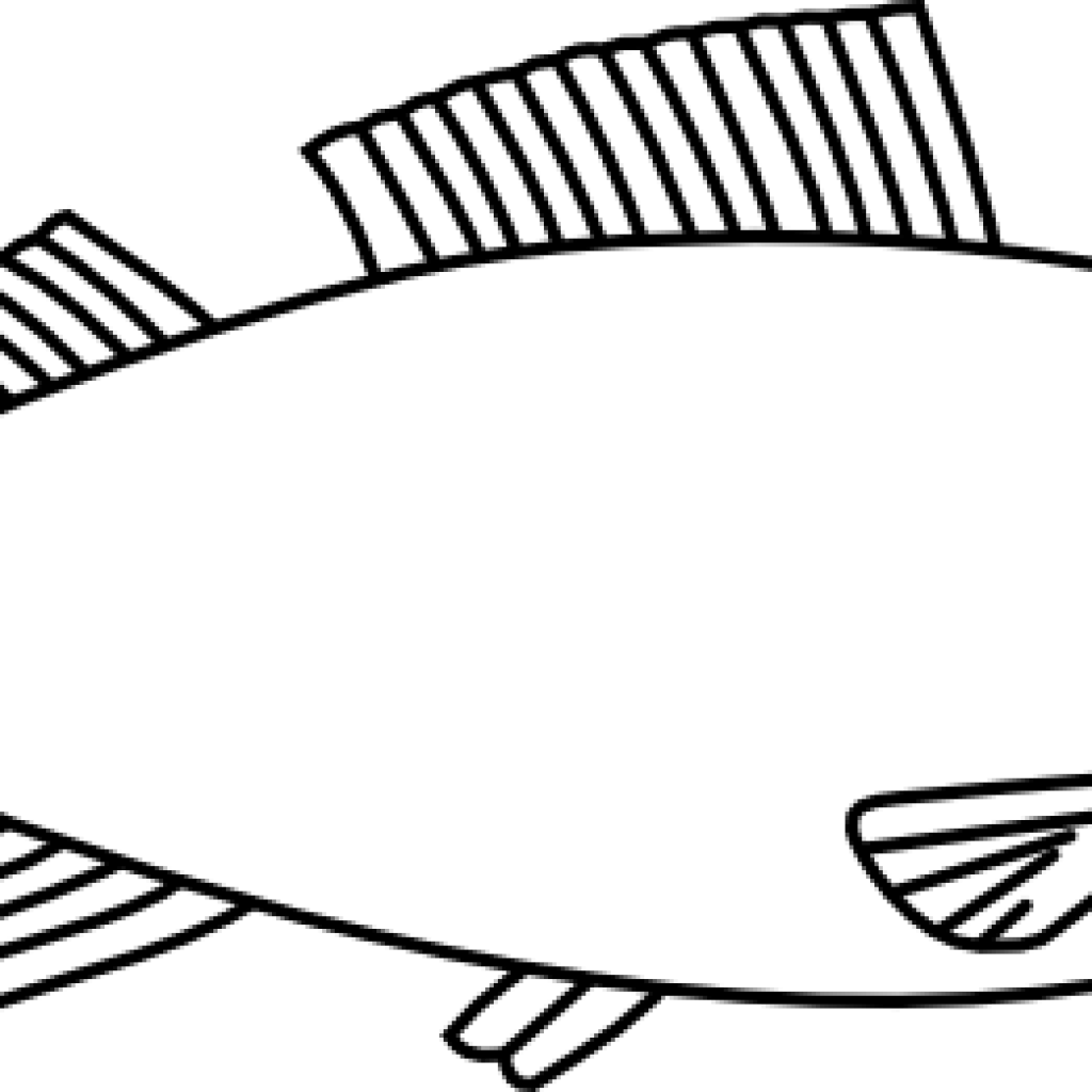 Fish outline clipart free png library library Fish Clipart Outline bird clipart hatenylo.com png library library