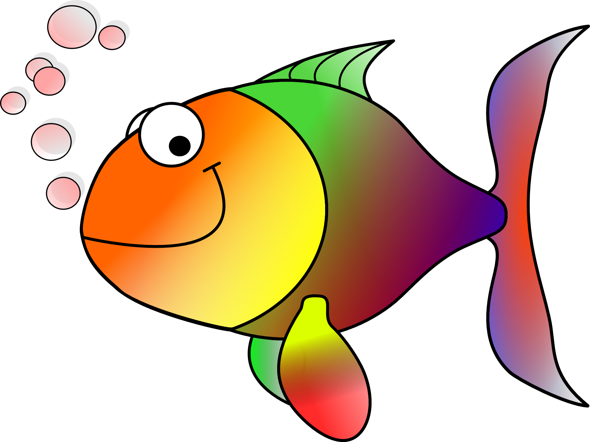 Fish reading clipart svg free Fish clip art free clipart images | fish | Pinterest | Clip art and ... svg free