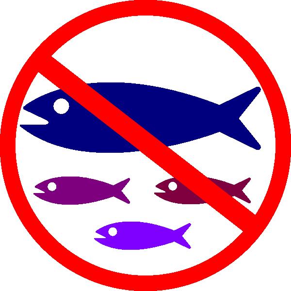 Fish symbol clipart jpg free library No Fishing Sign Clip Art at Clker.com - vector clip art online ... jpg free library