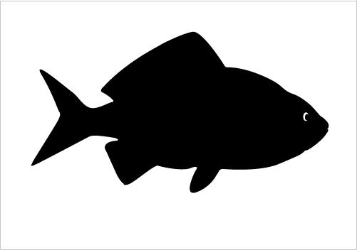 Fish silhouette clipart free clip free stock Free Fish Silhouette Vector, Download Free Clip Art, Free Clip Art ... clip free stock