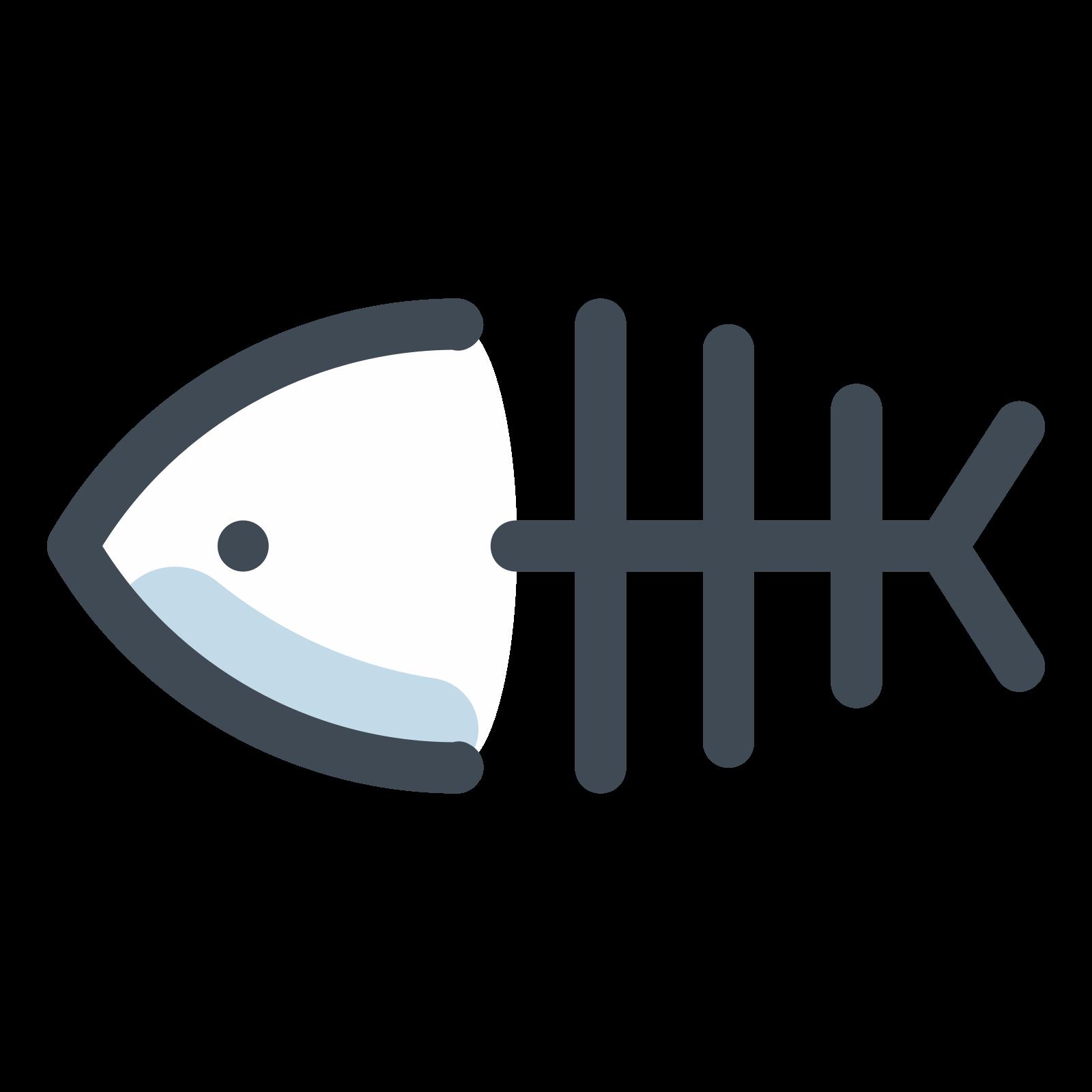 Fish skeleton clipart clip transparent stock Fish Skeleton アイコン - 無料ダウンロード、PNG およびベクター clip transparent stock