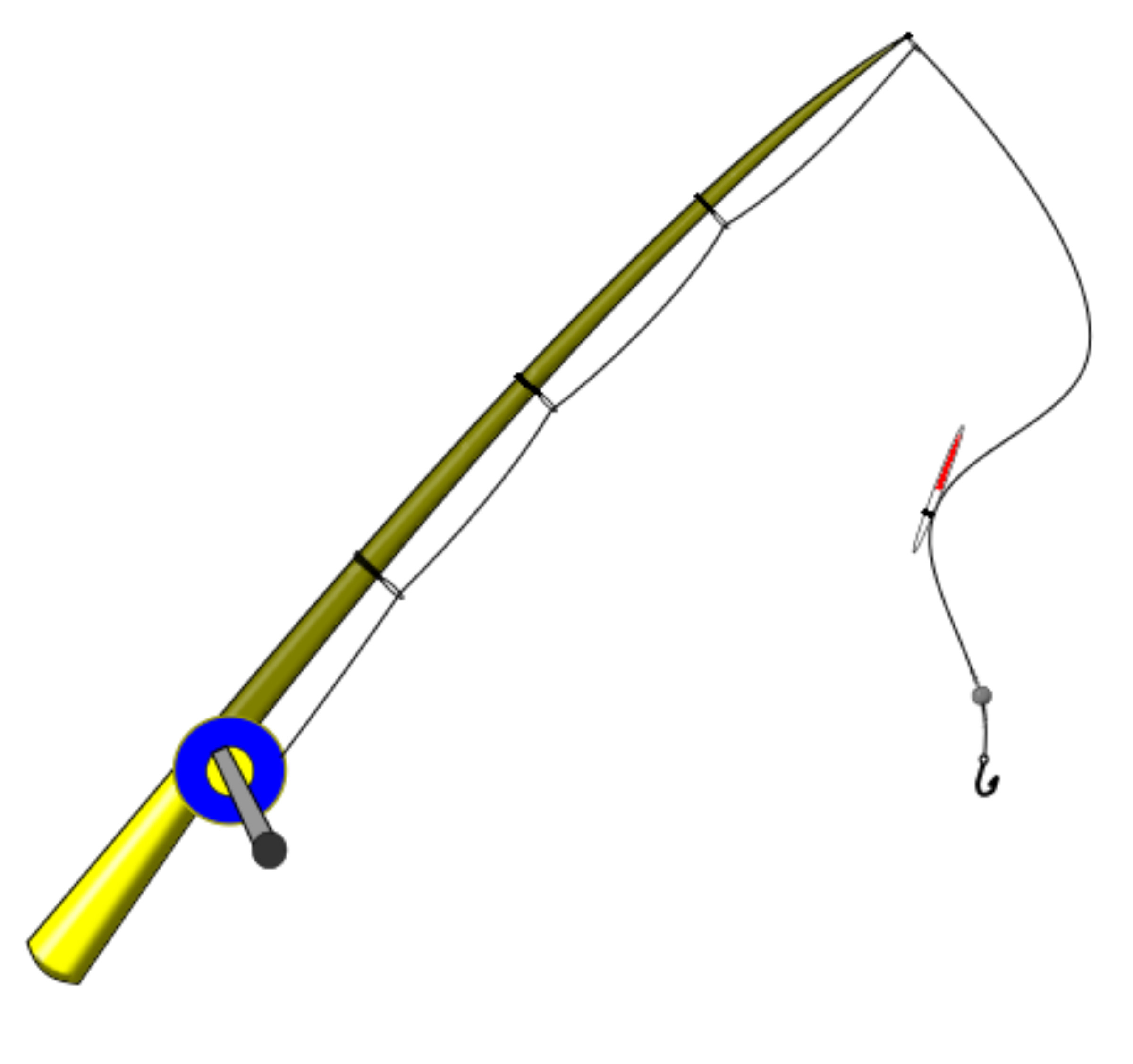 Minecraft fish clipart picture library stock Big Fishing Pole – deanlevin.info picture library stock