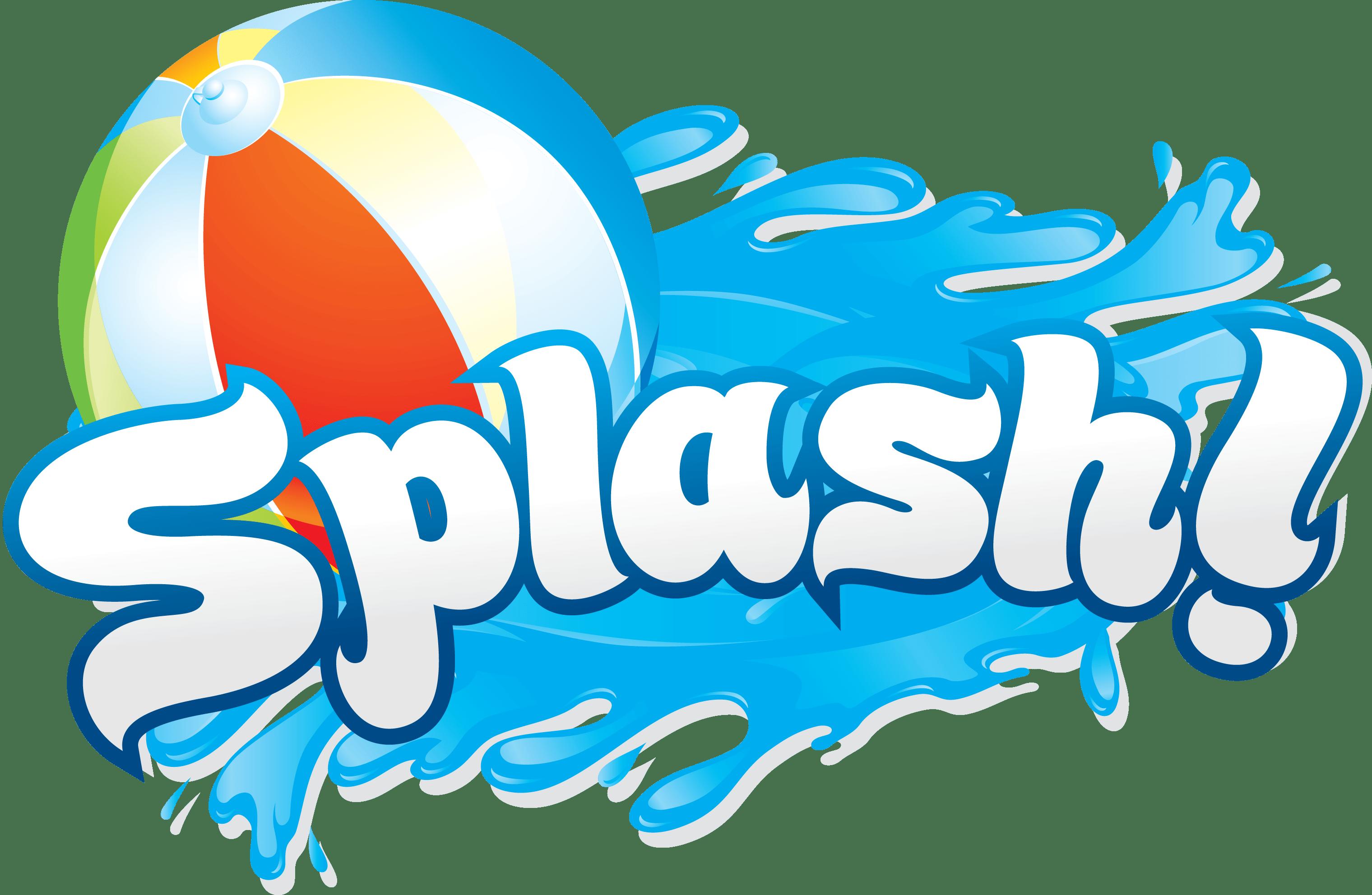 Swimming in money clipart png free Borde de Clip Clip de Pool Splash | Pool party | Pinterest | Clip ... png free