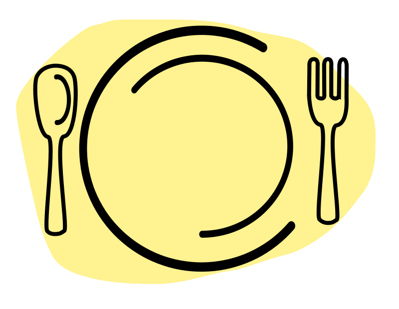 Turkey on a plate clipart clip art royalty free download Dinner Plate Clipart at GetDrawings.com | Free for personal use ... clip art royalty free download