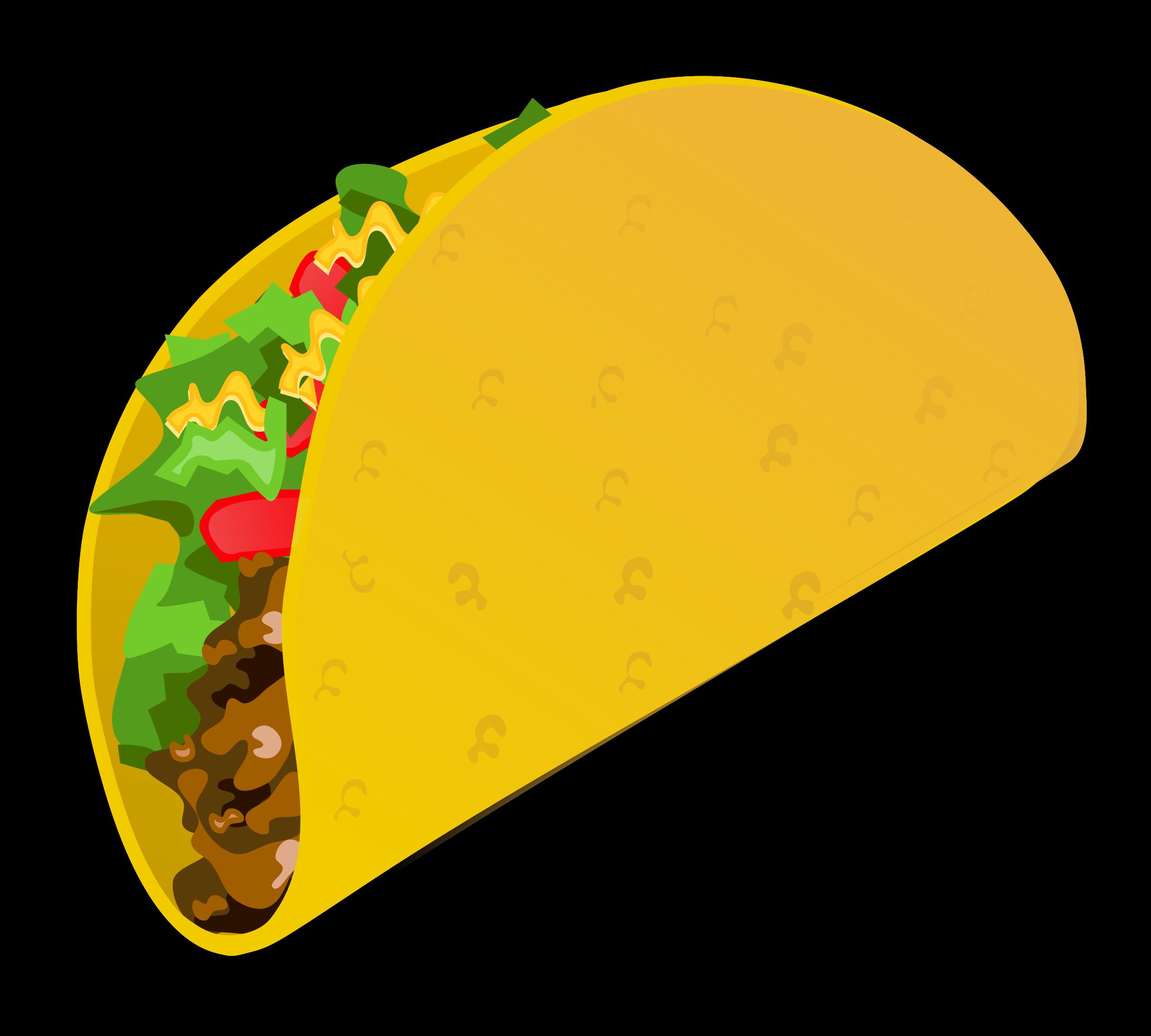 Fish taco clipart svg Taco Clipart (47+) svg