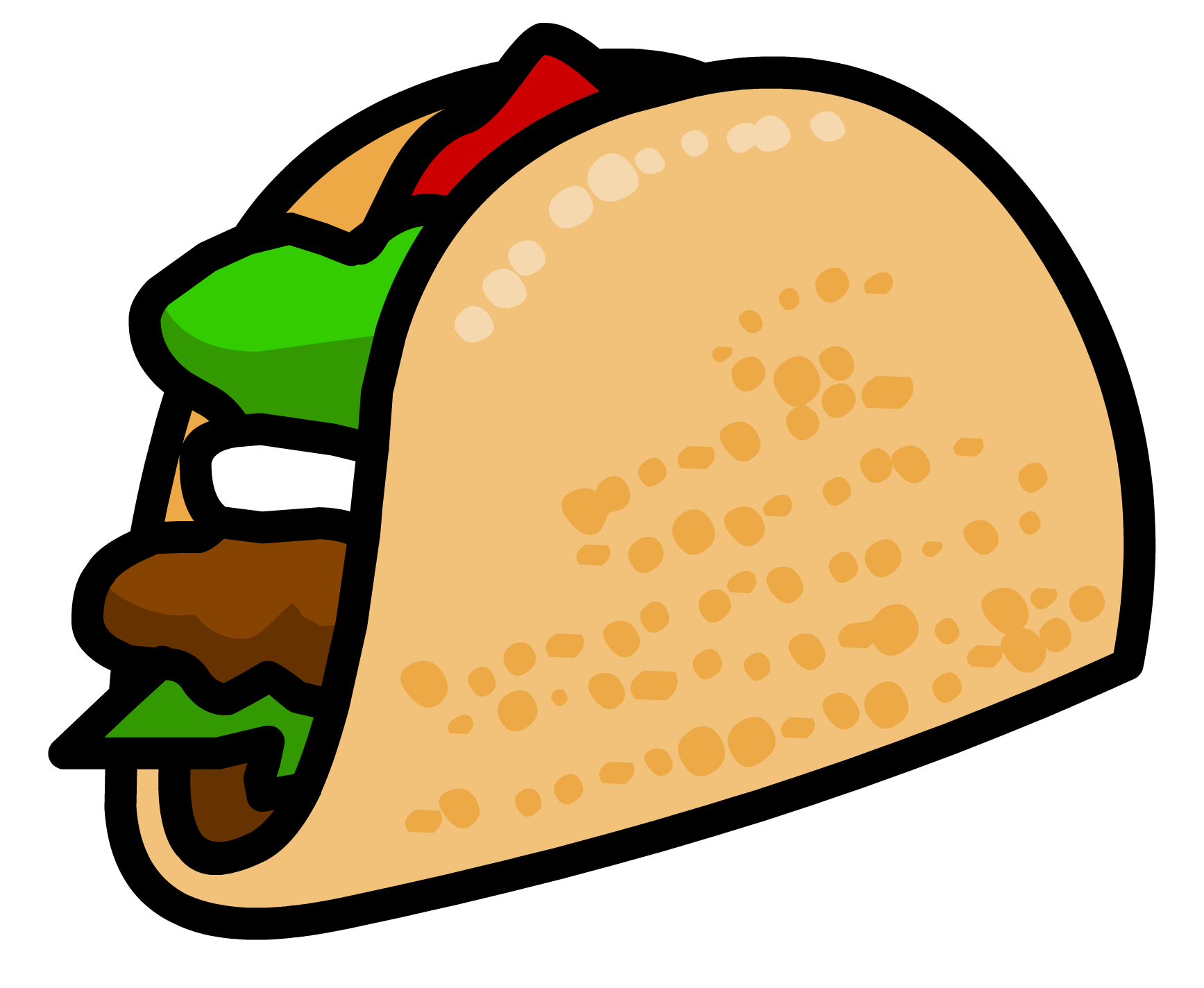 collection of taco. Fish tacos clipart