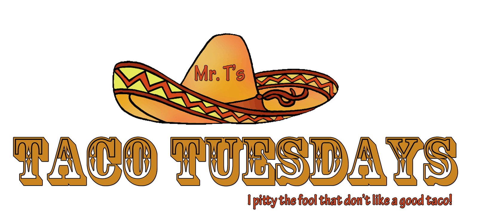 Fish taco clipart vector library stock Mr. T's Taco Tuesdays: Something Fishy about these tacos... vector library stock
