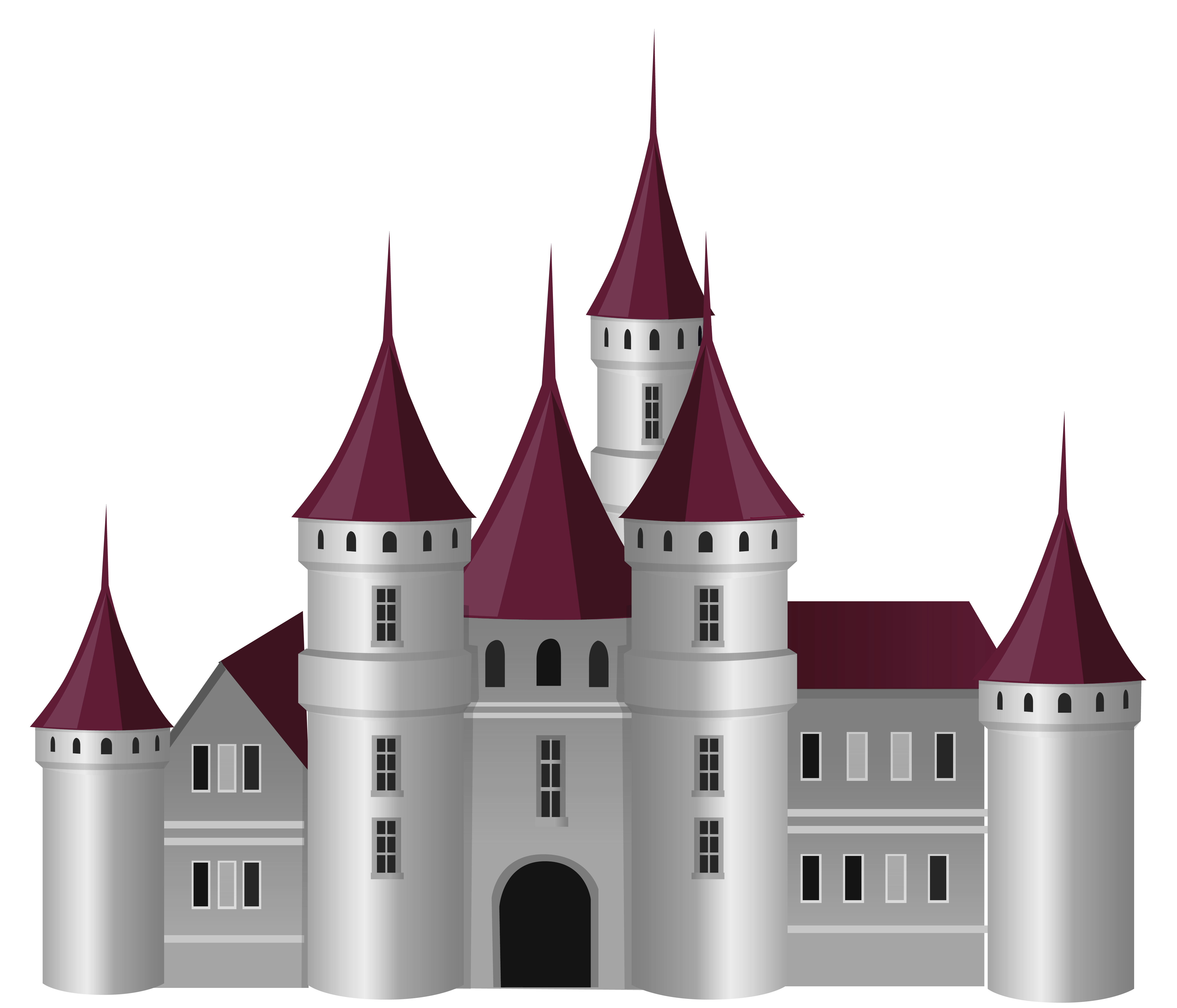 The popular. Fish tank castle clipart
