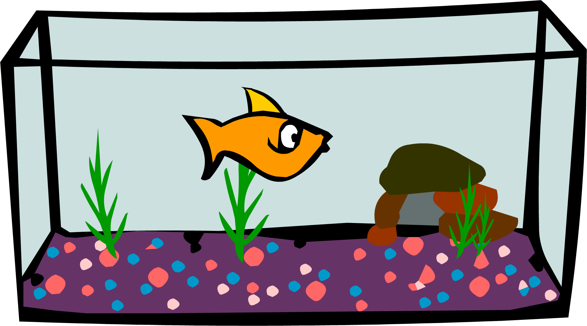 Fish tank clipart image library library Fish Tank Clipart | Free download best Fish Tank Clipart on ... image library library