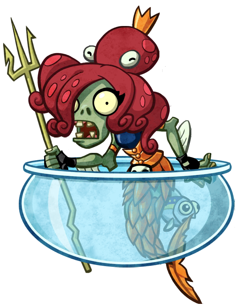 Fish tank plants clipart clipart free stock Image - Neptuna(stay in the fish tank).png | Plants vs. Zombies ... clipart free stock