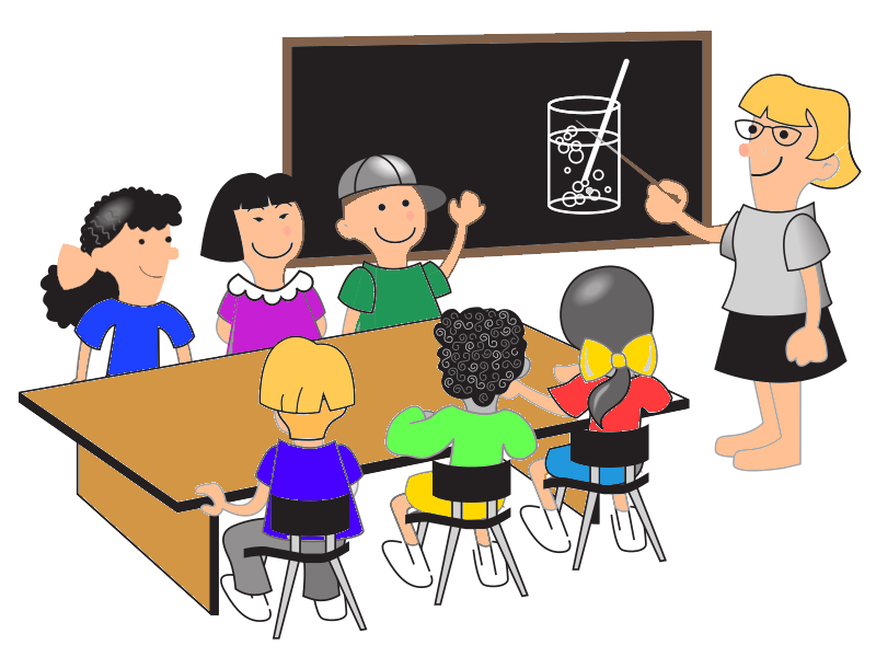 School class clipart picture freeuse stock 28+ Collection of Teacher In The Classroom Clipart | High quality ... picture freeuse stock