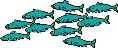 Fish teaching clipart png free library Fish school clipart 2 » Clipart Portal png free library