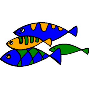 Fish teaching clipart banner freeuse stock Fish School clipart, cliparts of Fish School free download (wmf, eps ... banner freeuse stock