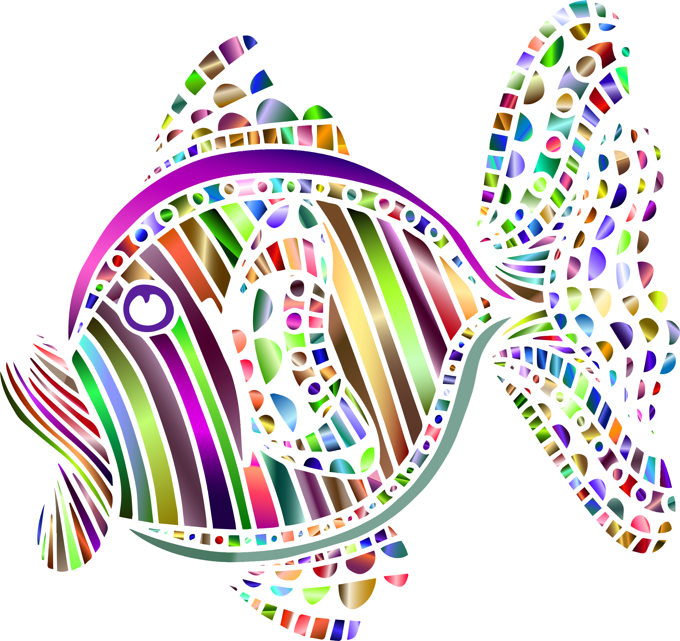 Fish thin clipart freeuse library Abstract Colorful Fish 3 Icons PNG - Free PNG and Icons Downloads freeuse library