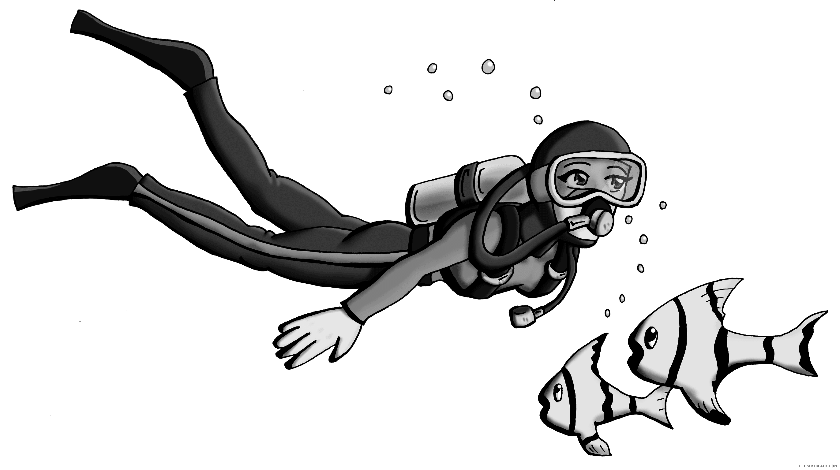 Fish with bubbles clipart black and white picture freeuse library Fish - Page 16 of 56 - ClipartBlack.com picture freeuse library