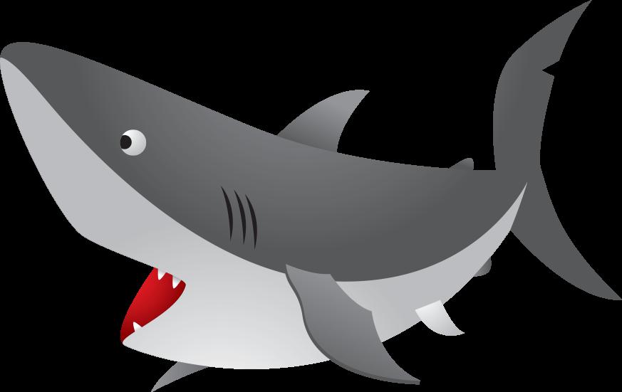 Fish with shark fin clipart clip library stock Great white shark Cuteness Clip art - Ferocious sea shark mouth 873 ... clip library stock