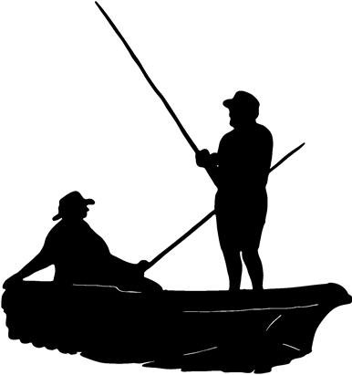 And clip art library. Fishing boat clipart black white