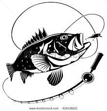 Fishing clipart black and white. Image result for rod