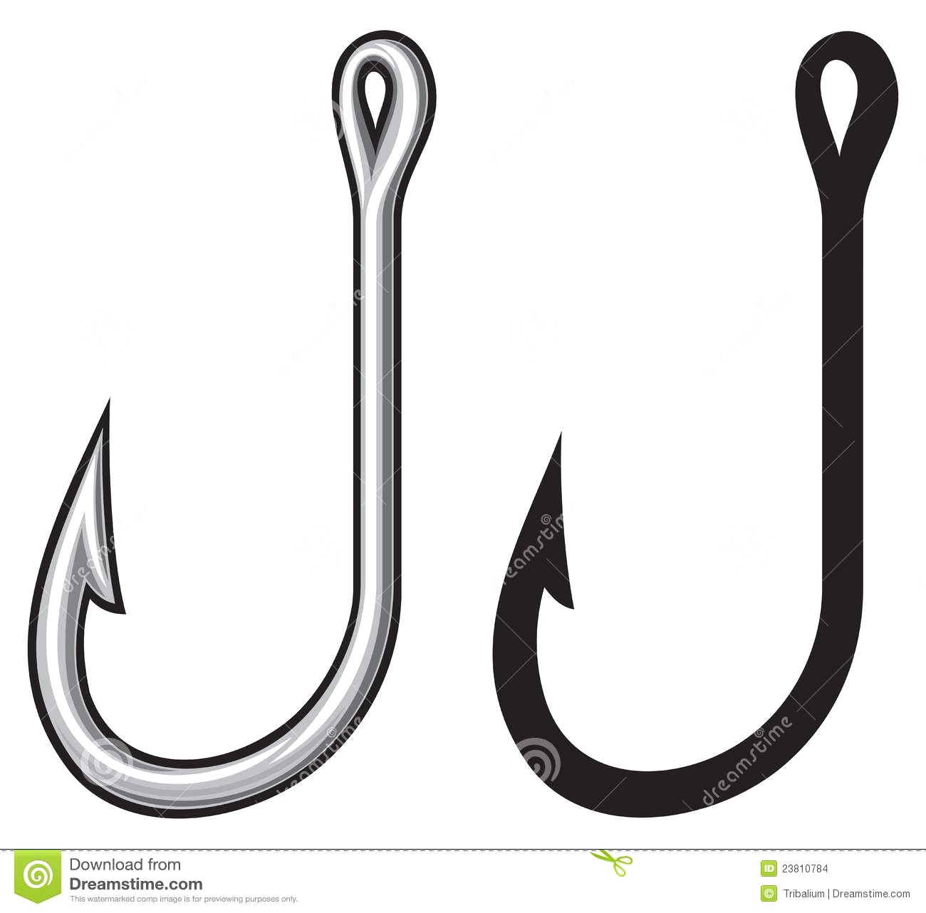 Fishing hook clipart free clipart transparent library Fishing hook clipart free 4 » Clipart Station clipart transparent library
