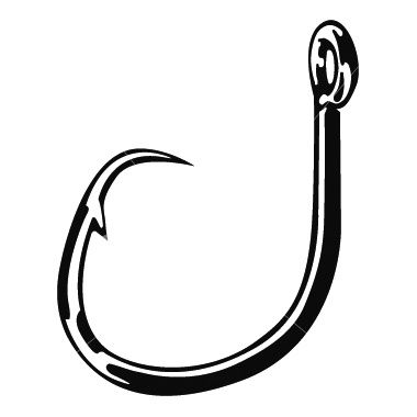 Fishing hook clipart svg free library Fish Hook Clipart #1 | fishing | Fish hook, Fish, Clip art svg free library