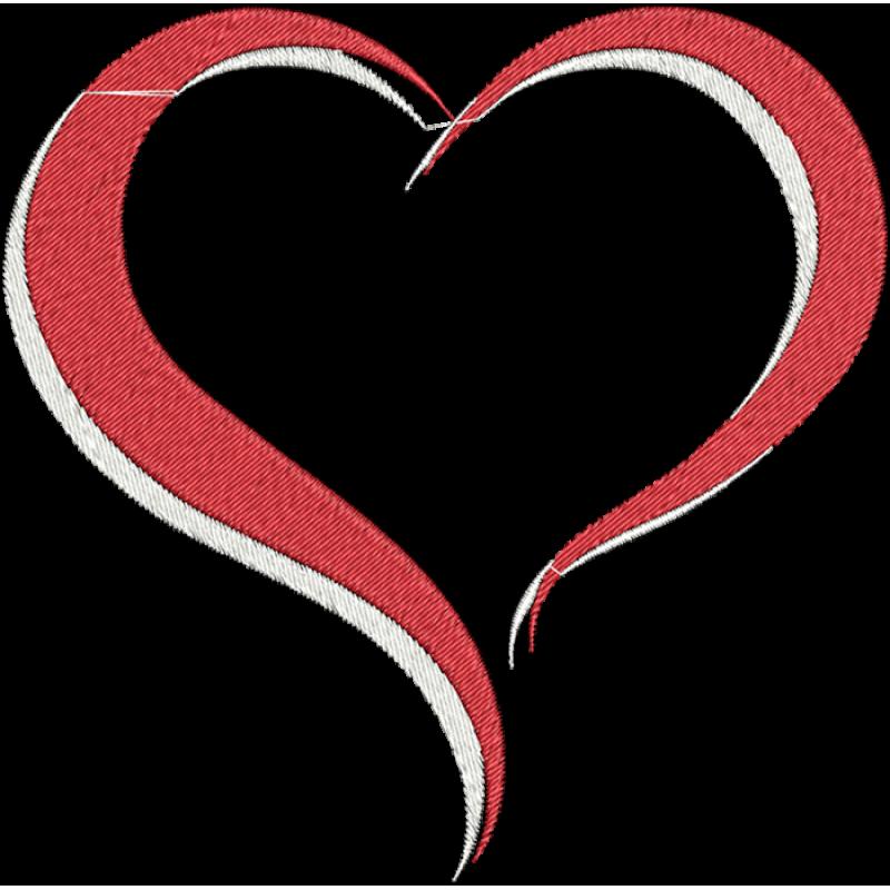 Fishing hook heart clipart graphic black and white library modelo de coração para bordados - Pesquisa Google | Bordados ... graphic black and white library