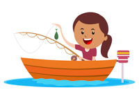 People on a boat catching fish clipart vector library download Fishing Boat Clipart | Free download best Fishing Boat Clipart on ... vector library download