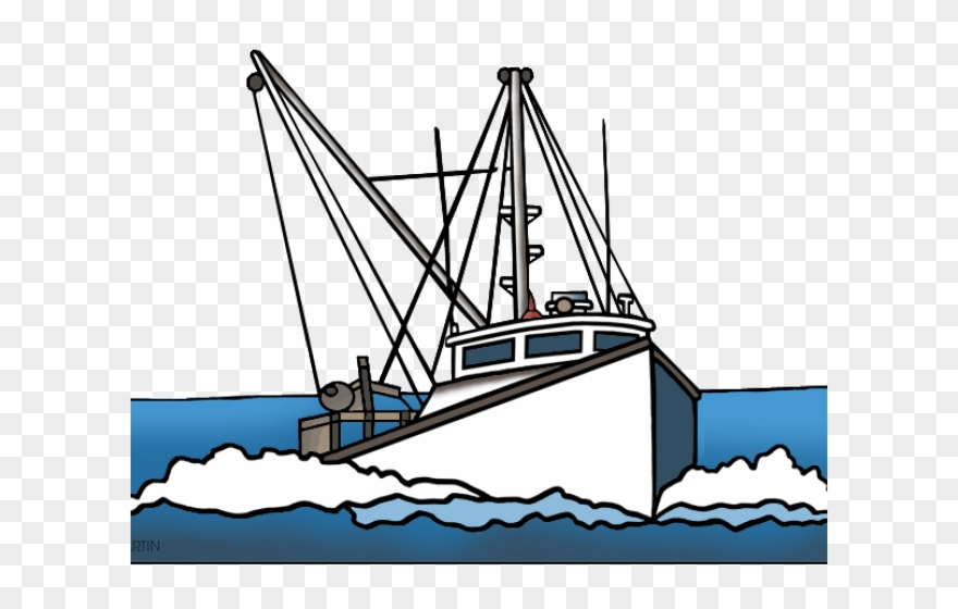 Fishing in a boat clipart graphic stock Fishing Boat Clipart Fishing Ship - Trawler Clipart - Png Download ... graphic stock