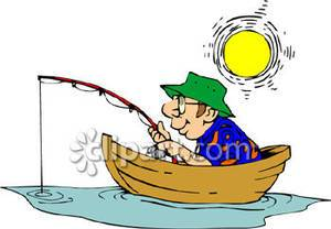 Fishing in a boat clipart jpg transparent library Man in fishing boat clipart » Clipart Portal jpg transparent library
