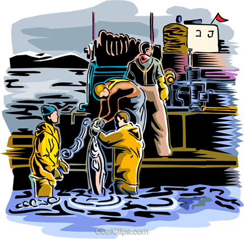 Fishing industry in clipart png transparent download Commercial fishing industry Royalty Free Vector Clip Art ... png transparent download