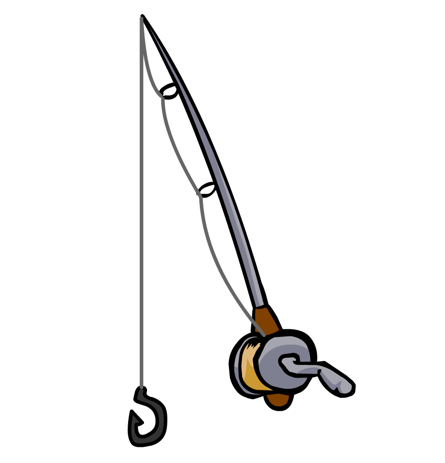 Fishing pole and fish clipart image transparent stock Fishing Pole With Fish Clipart | Clipart Panda - Free Clipart Images image transparent stock