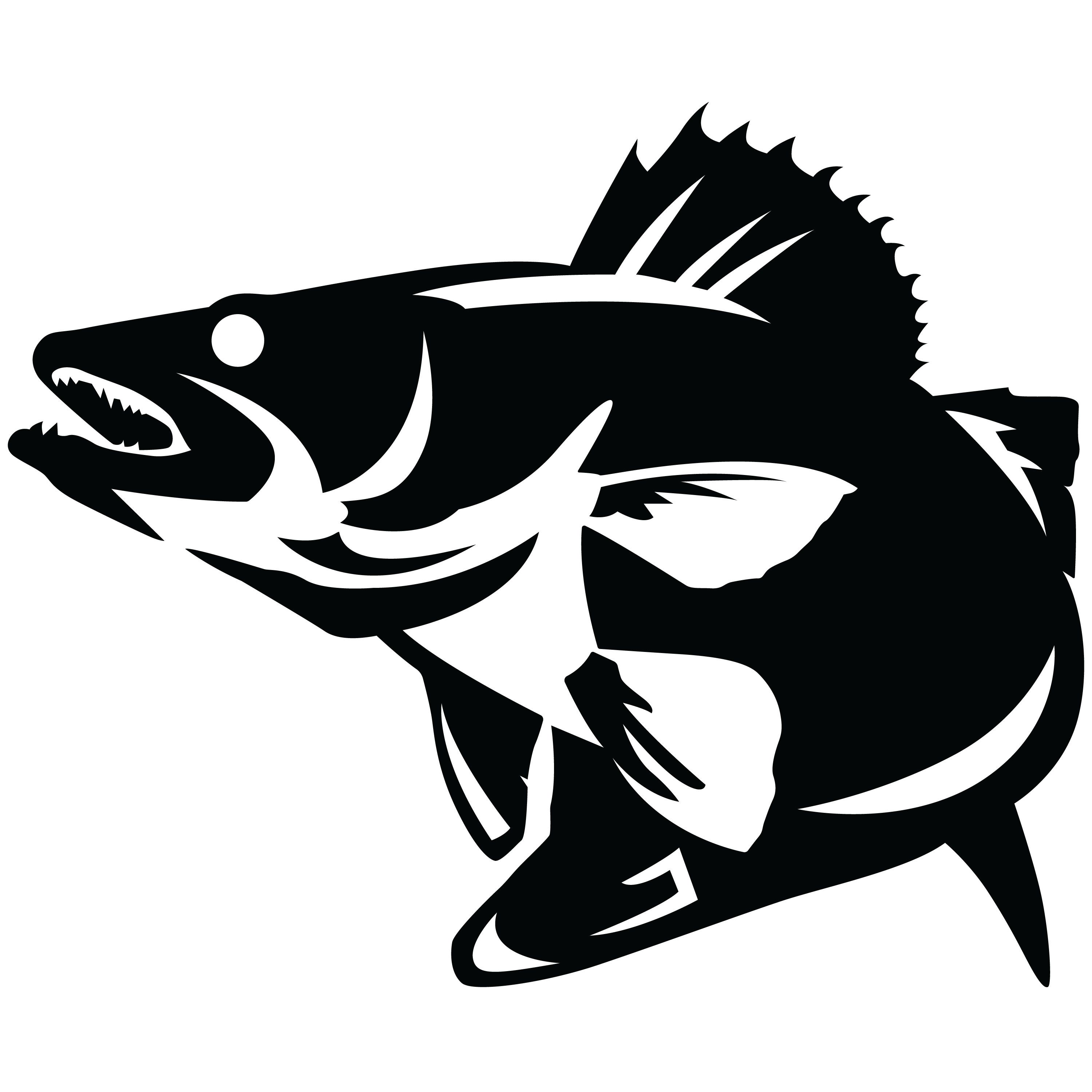 Fishing sayings clipart clip art black and white Image result for walleye fishing sayings | Crafts | Fish silhouette ... clip art black and white