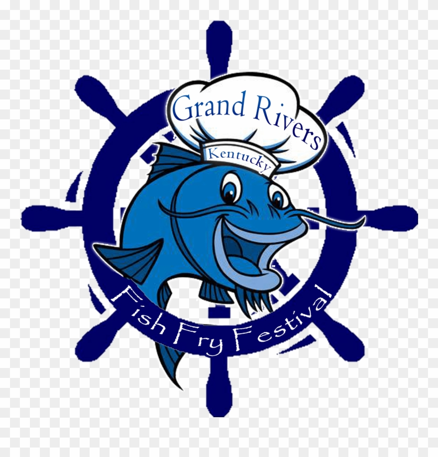 Grand rivers fish fry. Fishing tournament clipart