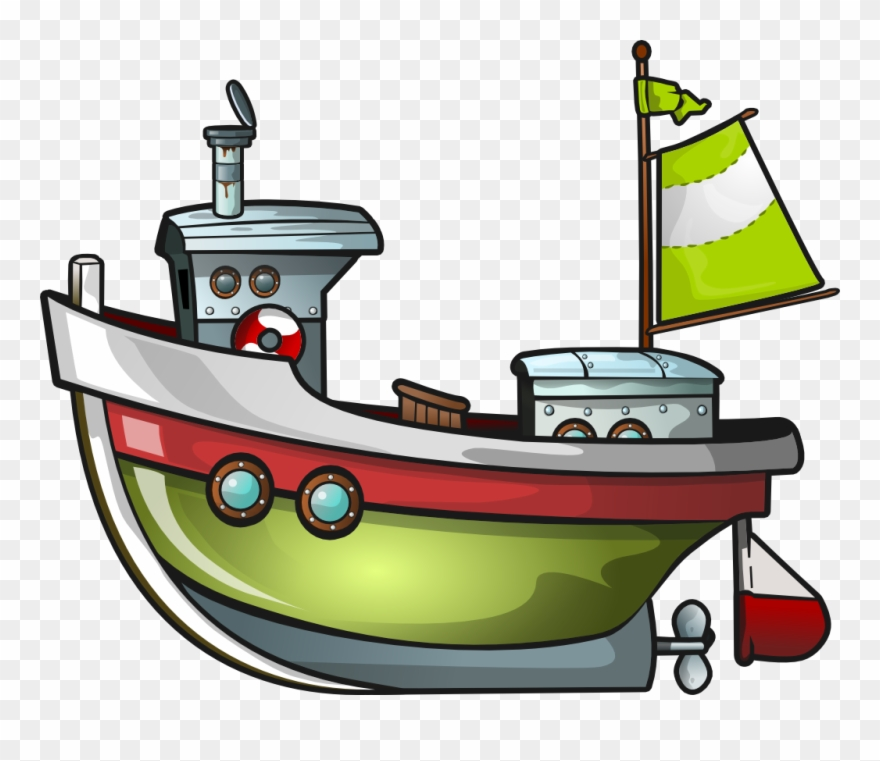 Fishing vessel clipart picture black and white library Clipart Boat 9 Clip Art Images Free Formercial Image - Fishing Boat ... picture black and white library