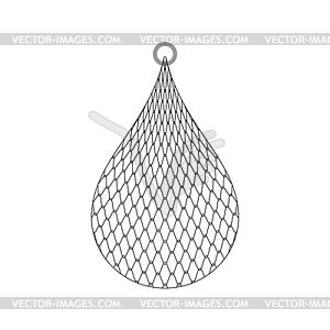 Fishnet clipart vector Fishing net . fishnet cartoon - vector clipart vector