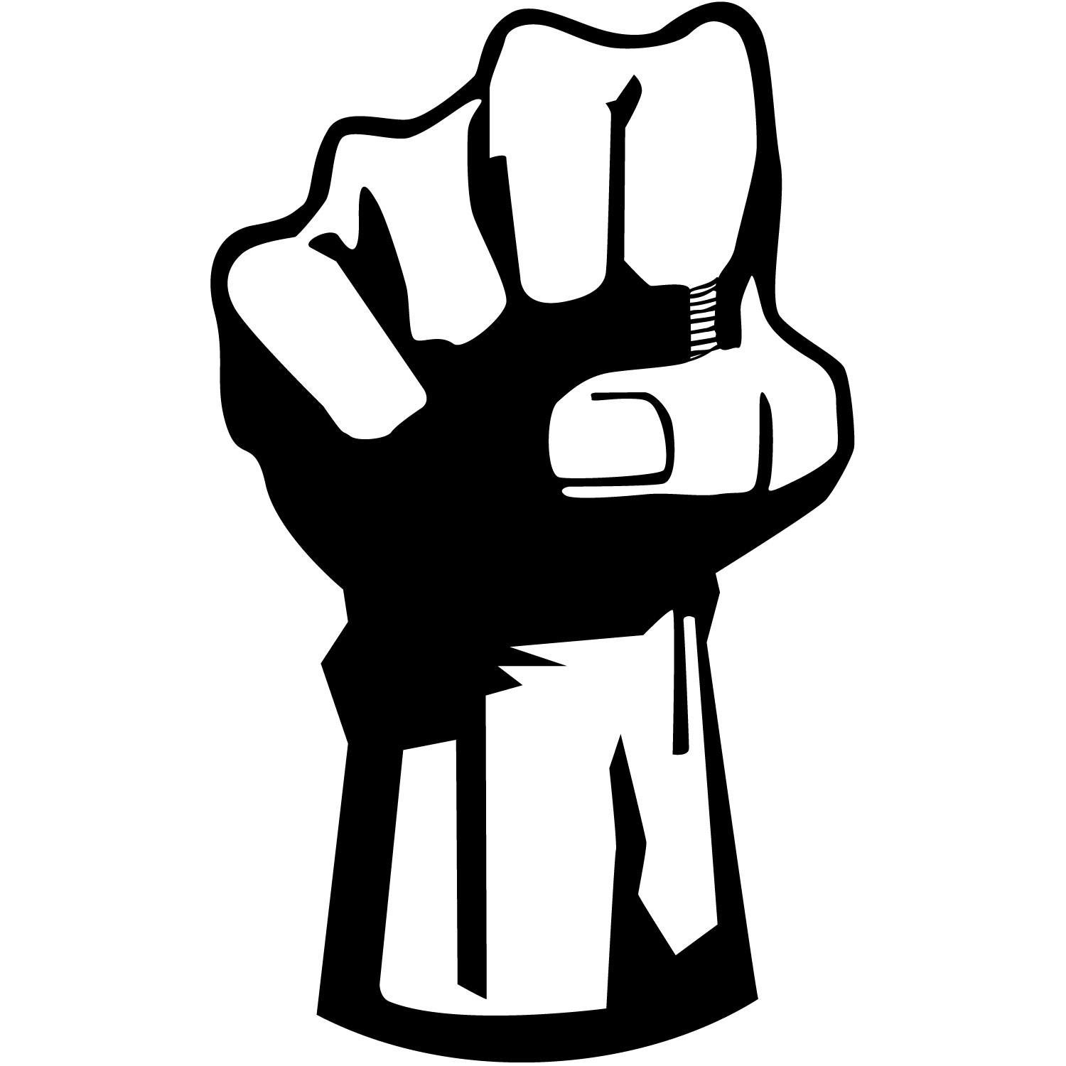 Women s fist pump clipart free clip black and white Free Fist Cliparts, Download Free Clip Art, Free Clip Art on Clipart ... clip black and white
