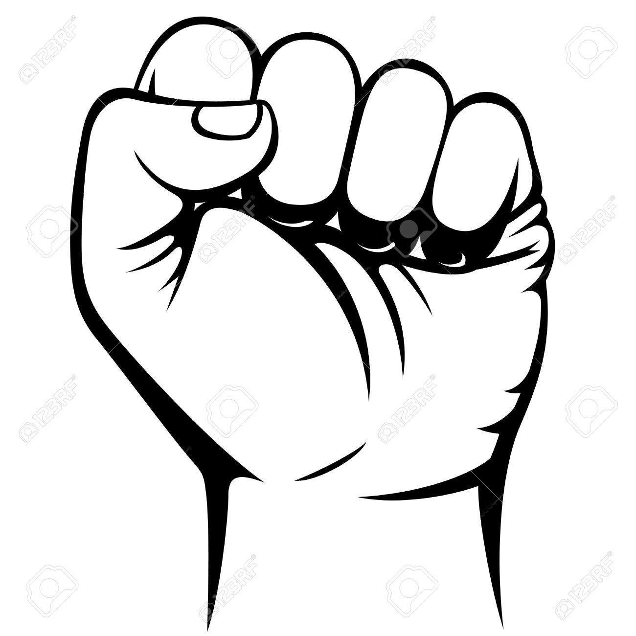 Fist in the air clipart picture royalty free stock Fist Clipart | Free download best Fist Clipart on ClipArtMag.com picture royalty free stock