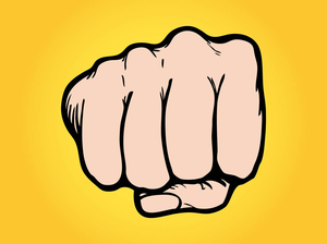 Fist pumping clipart jpg library stock Clipart Fist Pump | Free Images at Clker.com - vector clip art ... jpg library stock