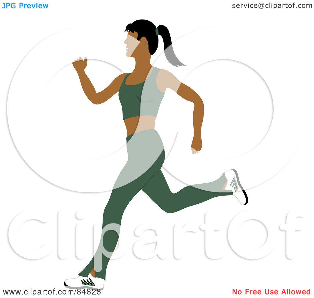 Fit and healthy clipart jpg black and white download Royalty-Free (RF) Clipart Illustration of a Fit And Healthy Indian ... jpg black and white download