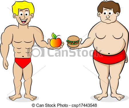 Fit and healthy clipart jpg free stock Fit person clipart - ClipartFest jpg free stock