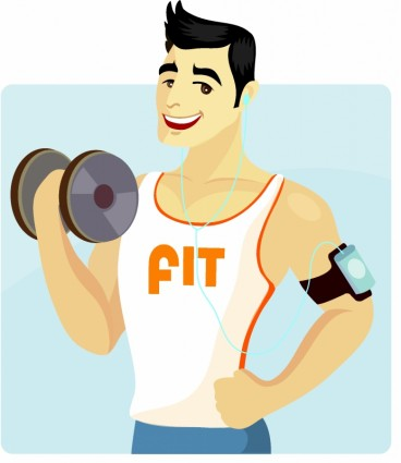 Fit and healthy clipart clip royalty free Healthy Male Body Clipart - Clipart Kid clip royalty free