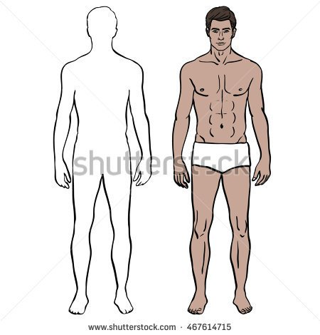 Fit human body clipart clip free download Outline Of Body Template. invisible man the o 39 jays and body ... clip free download