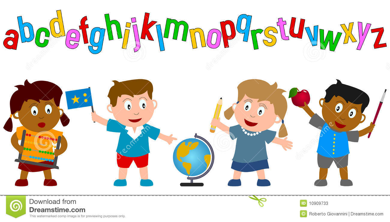 Fit kids clipart vector library download kids holding school supplies stock photos. school children png ... vector library download